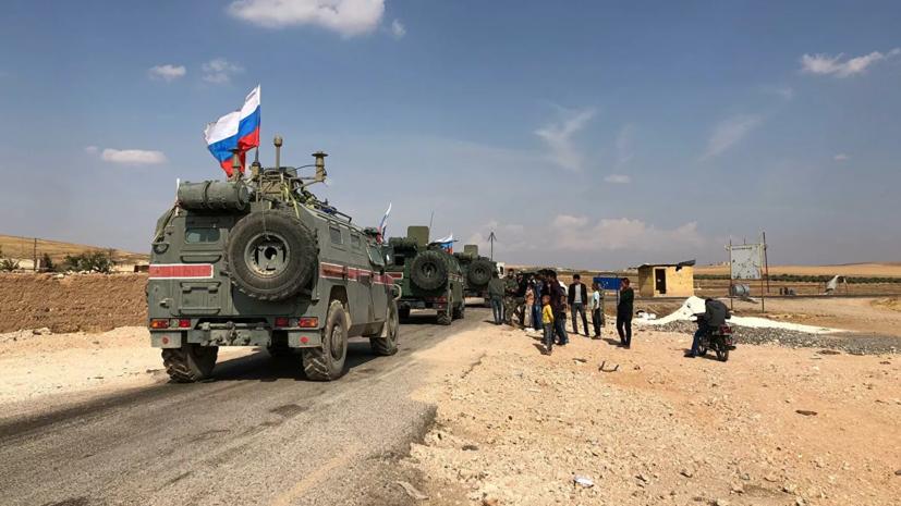 Российская военная полиция введена в сирийский город Саракиб