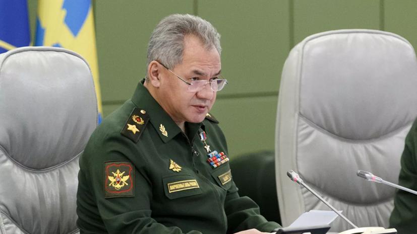 Шойгу назвал число женщин в российской армии