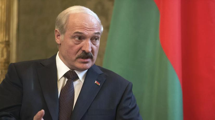 Лукашенко рассказал о кредитах США для строительства нефтепровода