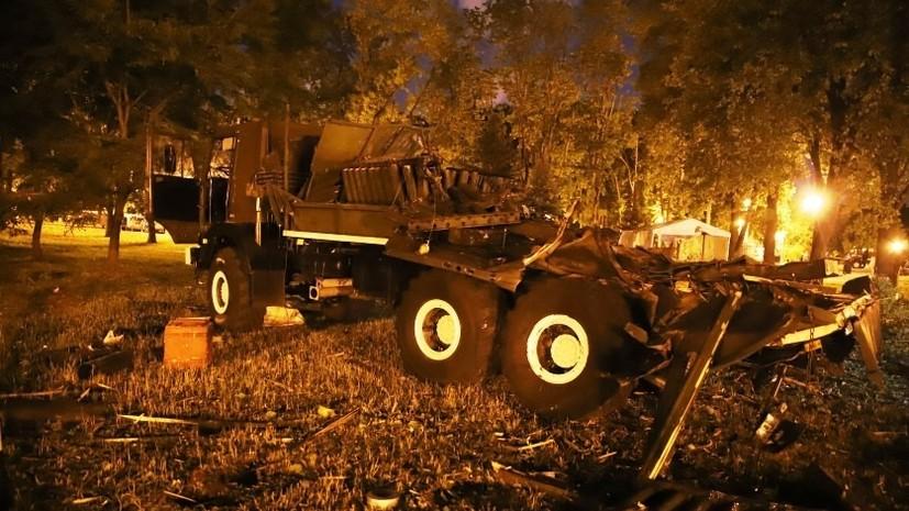 В Белоруссии предъявили обвинение россиянам по делу о взрыве на салюте