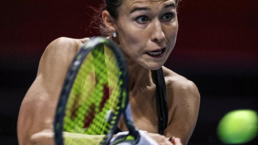 Дьяченко проиграла Кенин на старте турнира WTA в Лионе