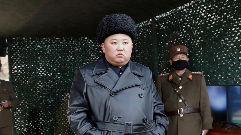 Ким Чен Ын направил президенту Южной Кореи письмо по поводу COVID-19