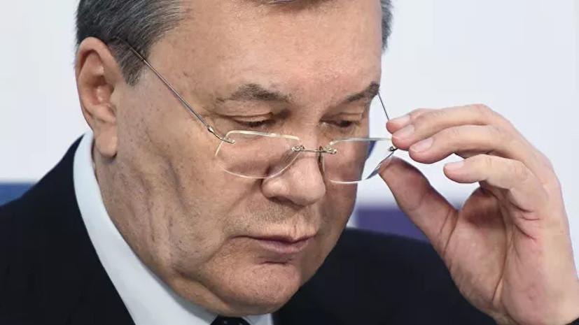 Совет ЕС продлил санкции против Януковича и его соратников