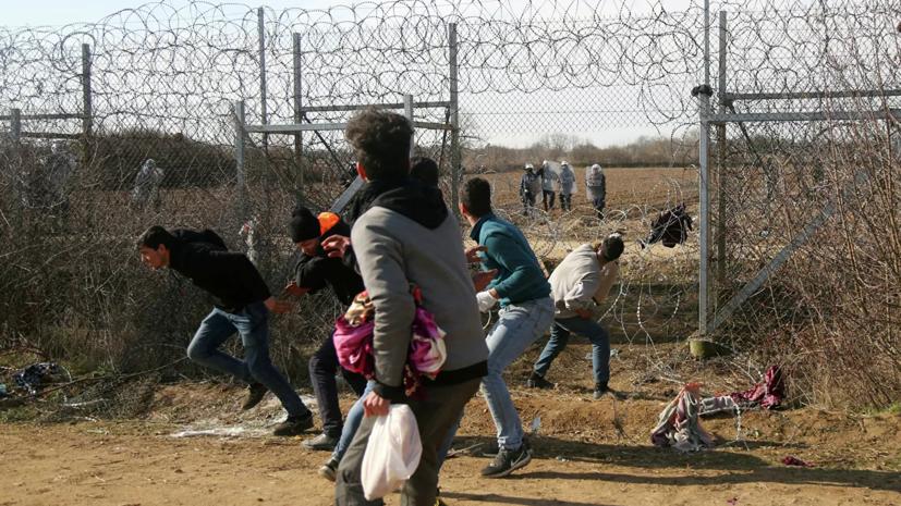 Греция решила депортировать прибывших после 1 марта мигрантов