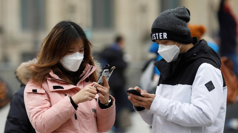 Во Франции зафиксированы две новые смерти от коронавируса