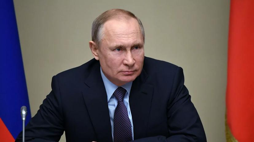 Путин внёс законопроект о наказаниях за уничтожение памятников воинам