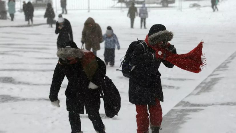 Синоптик прогнозирует арктические холода в Москве в конце недели