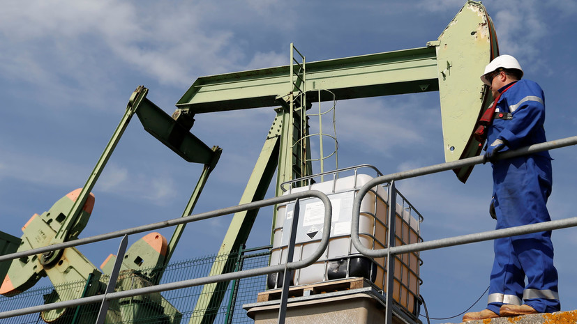 Нефть дорожает на 7% после резкого снижения котировок