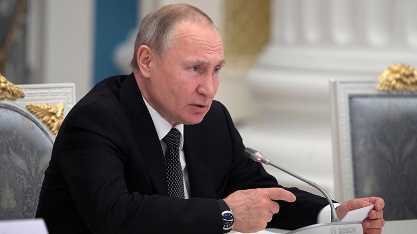 «Конъюнктура сегодняшнего дня»: Путин назвал чушью заявление Зеленского во время визита в Польшу