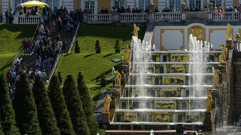 Сезон фонтанов в «Петергофе» откроется 25 апреля