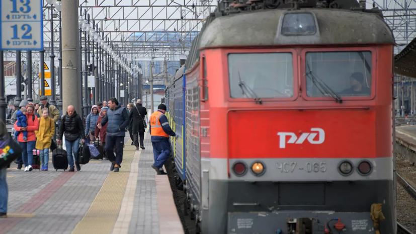 РЖД приостанавливает курсирование поездов между Россией и Монголией