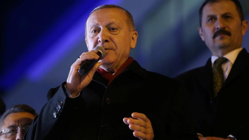 Эрдоган сравнил греческих военных на границе с Турцией с нацистами