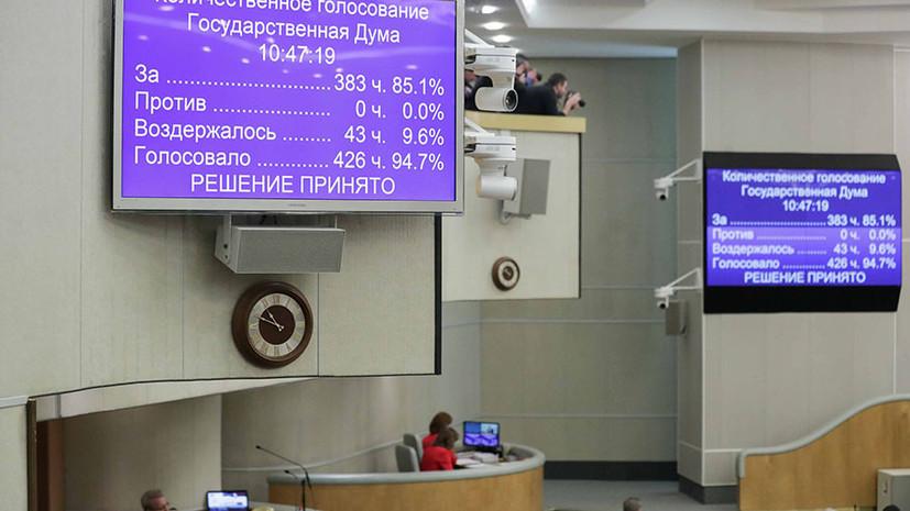 Общероссийское голосование пройдёт 22 апреля: Госдума и Совфед одобрили закон о поправке к Конституции