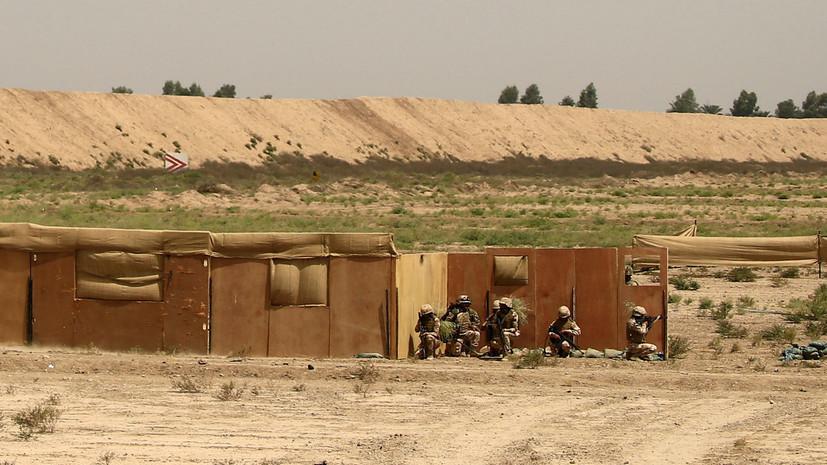 Пентагон рассматривает военный ответ на удар по базе Эт-Таджи в Ираке