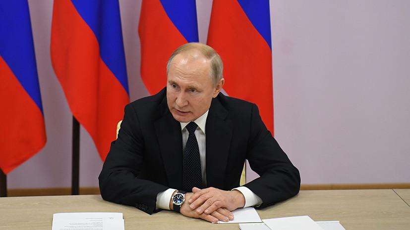 «Меня самого это коробит»: Путин высказался о высоких зарплатах глав госкорпораций