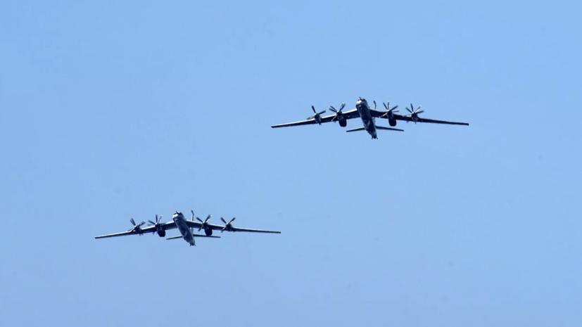 СМИ сообщили о пролёте бомбардировщиков России у лагеря США в Арктике
