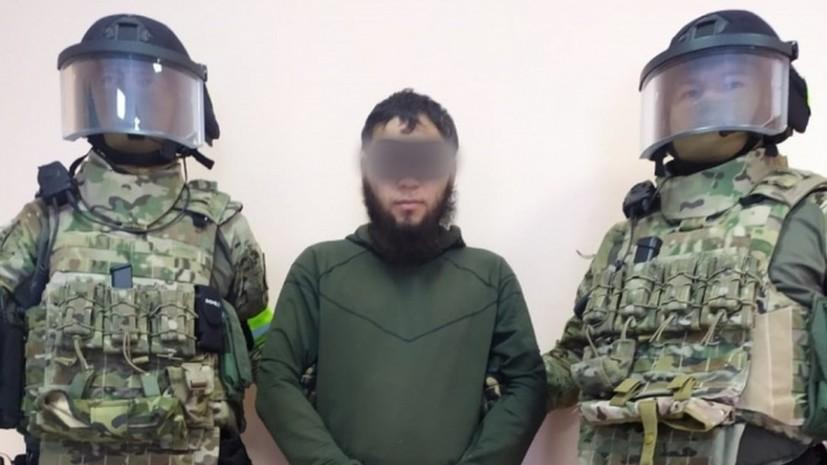 В Казахстане спецслужбы задержали подозреваемого в подготовке теракта