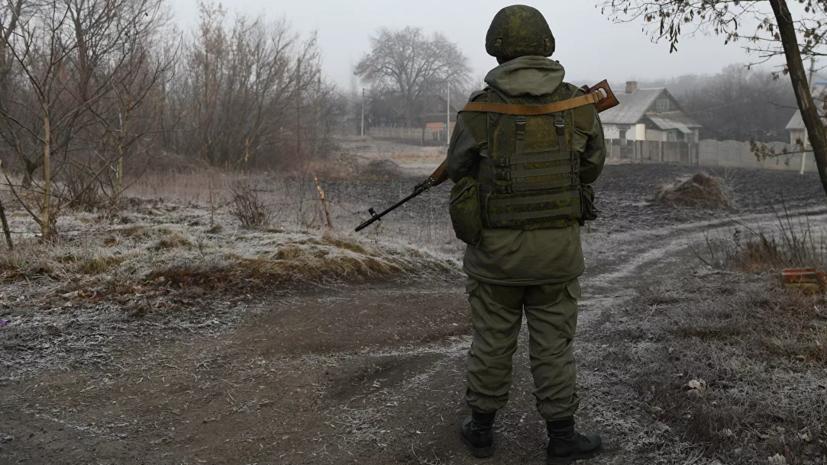 В ДНР сообщили о гибели мужчины после обстрела со стороны ВСУ