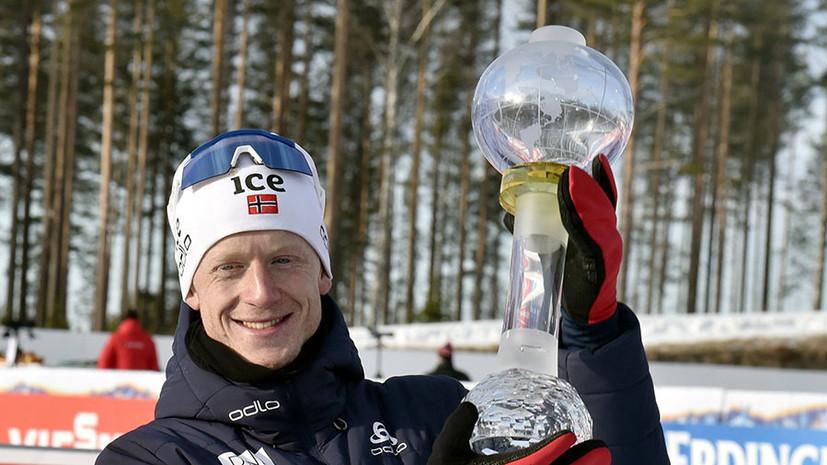 «Глобусы» Бё и Вирер, прорыв Логинова, прощание Фуркада и Мякяряйнен: как завершился Кубок мира по биатлону