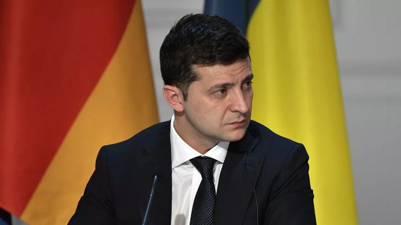Зеленский подписал указ о закрытии границ из-за COVID-19