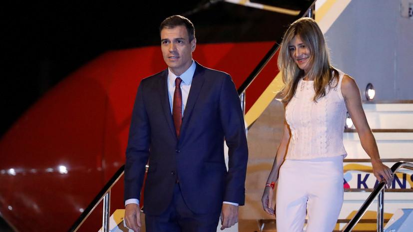 Супруга испанского премьера заразилась COVID-19