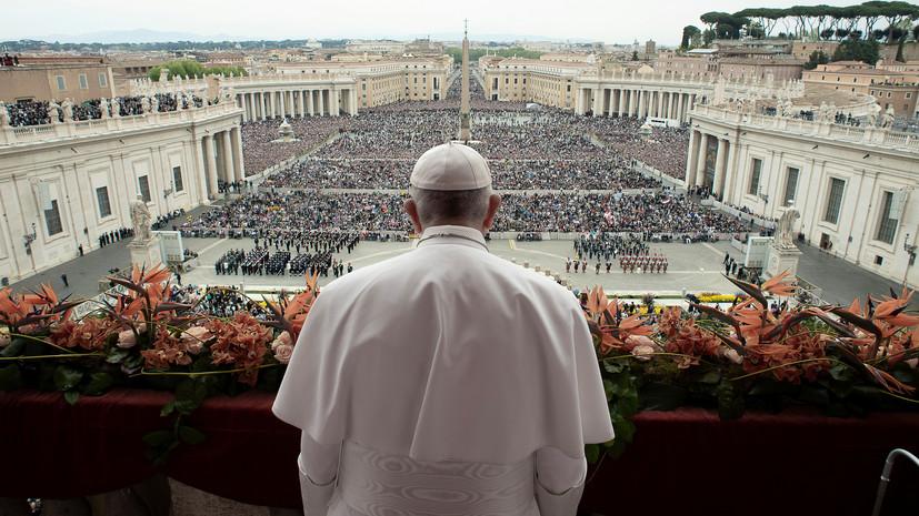 В Ватикане не будет прихожан на пасхальных службах