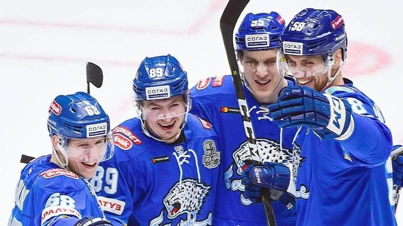 «Барыс» готов продолжить участие в плей-офф КХЛ