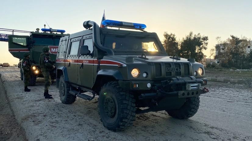 Живой щит из мирных жителей: Минобороны России сообщило о провокациях боевиков во время патрулирования в Идлибе