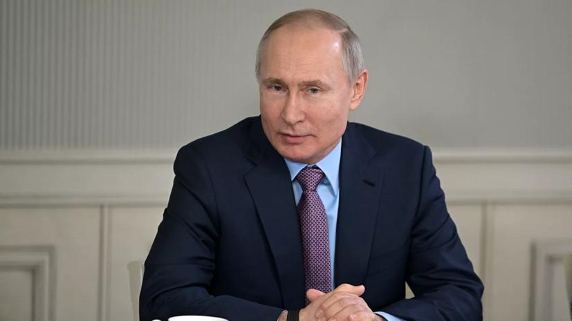 Путин заявил, что Россия смогла компенсировать потери от санкций