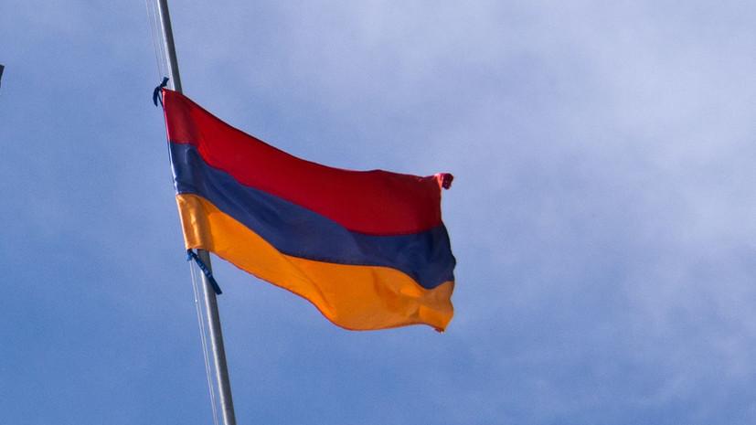В Армении ввели режим ЧП на месяц из-за коронавируса