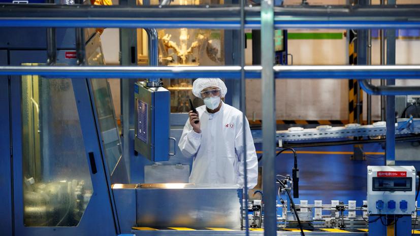 Заводы стоят: промышленное производство в Китае упало впервые за 30 лет