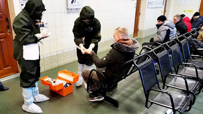 В Приморье прошли ученияпо борьбе с коронавирусом