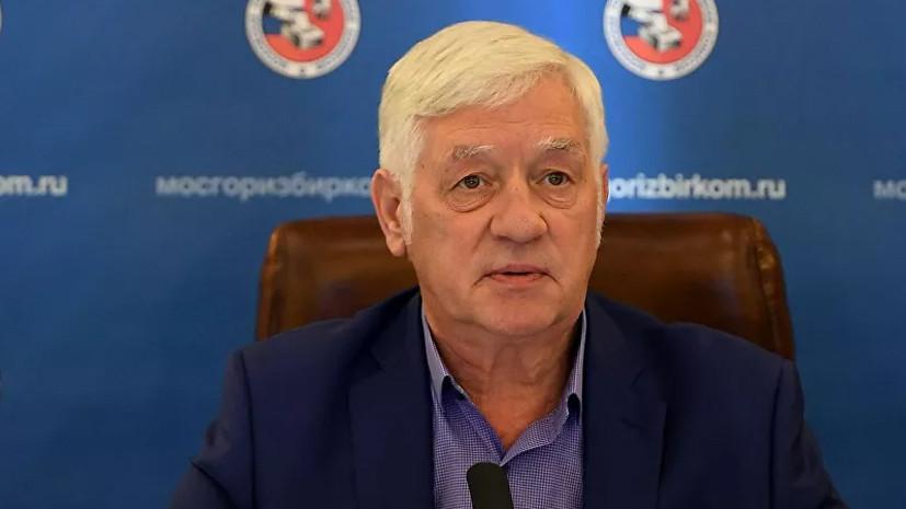 Глава Мосгоризбиркома объявил о своей отставке