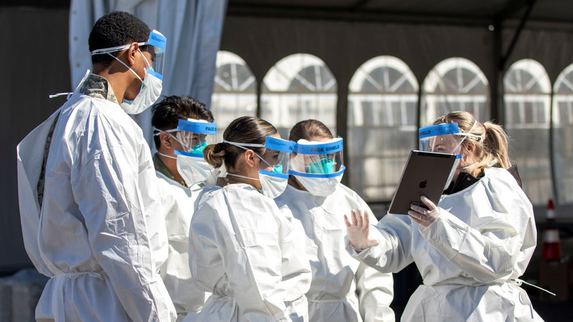 В США могут начать поиск лечения коронавируса в армии «в сжатые сроки»