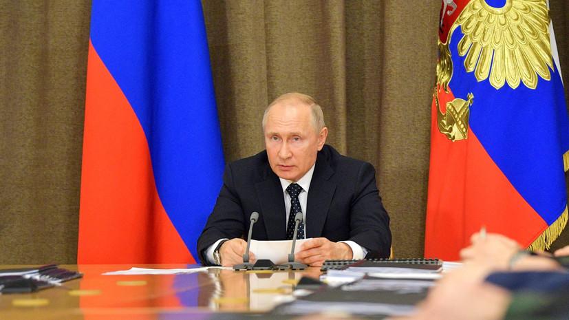 Путин прокомментировал ситуацию с коронавирусом