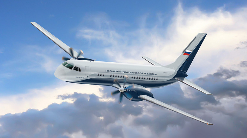 Связать регионы: каким будет российский пассажирский лайнер Ил-114-300