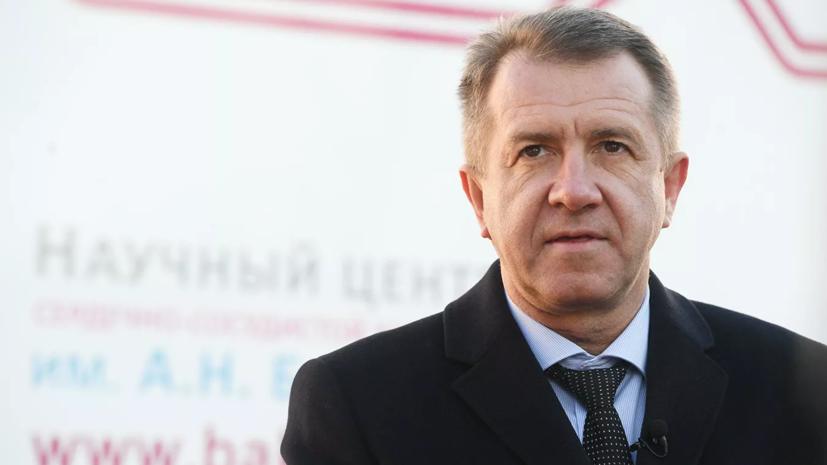 Замглавы ФСИН отправлен в отставку