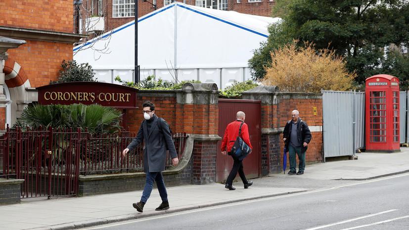 Число умерших от коронавируса в Британии превысило 100
