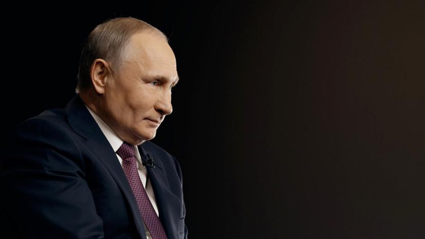 Путин прокомментировал заявление, что его называют царём