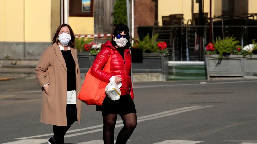 Россиянка оценила ситуацию с коронавирусом в Италии и Швейцарии