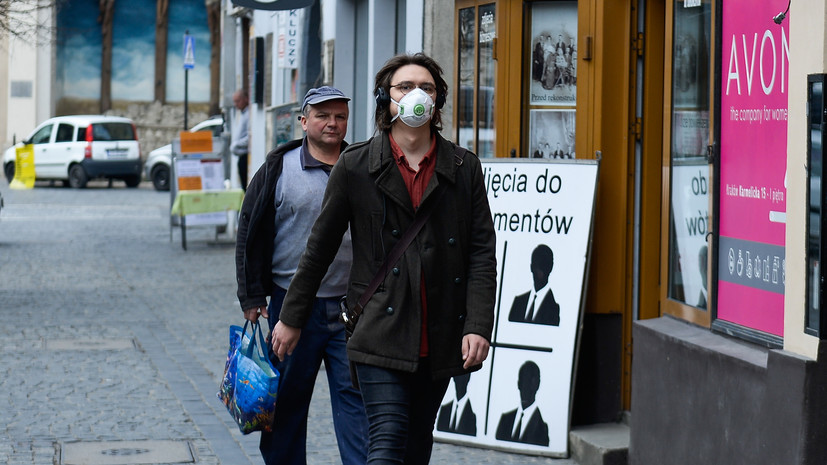 ВПольше введут режим эпидемии из-за коронавируса