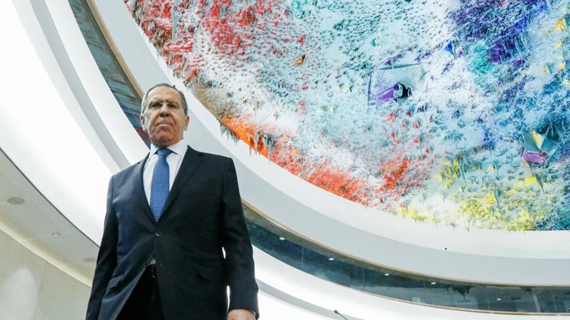Лавров рассказал о начале своей карьеры дипломата