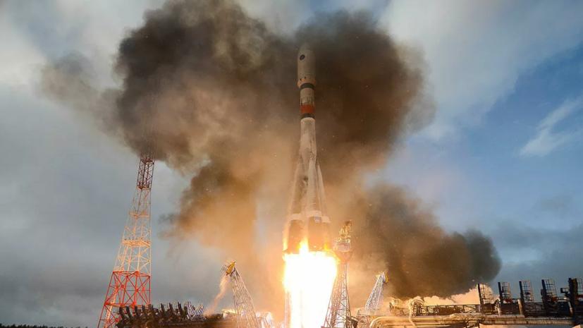 Ракета «Союз-2.1б» с 34 британскими спутниками стартовала с Байконура
