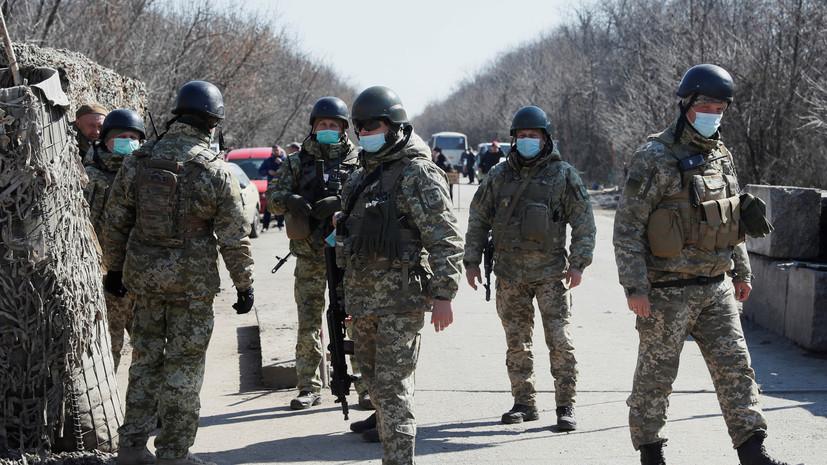 ВСУ будут патрулировать города Украины из-за коронавируса
