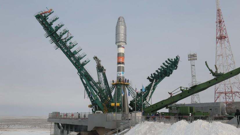 Россия вывела на орбиту 34 спутника OneWeb