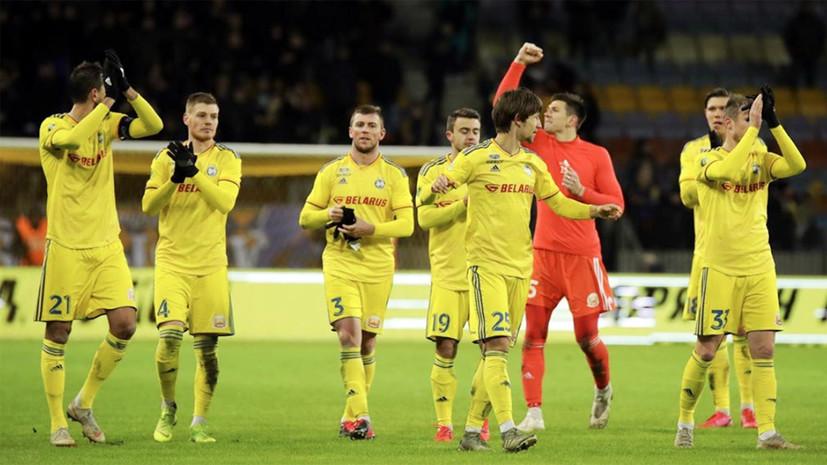 Пять пенальти, ляп вратаря и баянист на игре: чемпионат Белоруссии по футболу стал самым резонансным событием выходных