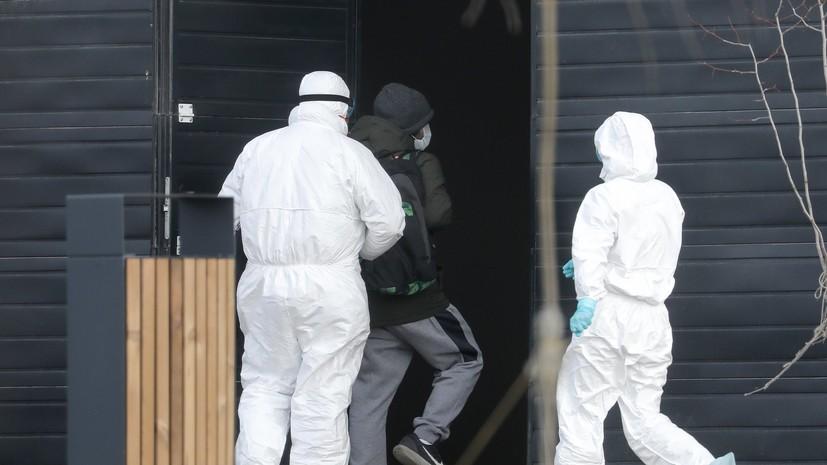 Число случаев заражения коронавирусом в России выросло до 438