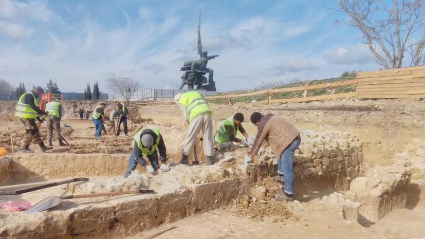 Батарея №8: в Севастополе нашли оборонительные сооружения времён Крымской войны