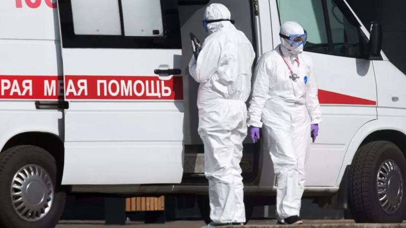 Путин прибыл на стройплощадку больницы в Коммунарке