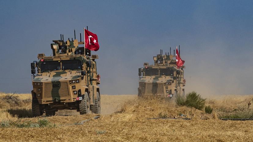 Боевики заложили взрывчатку на маршруте турецкой колонны в Идлибе